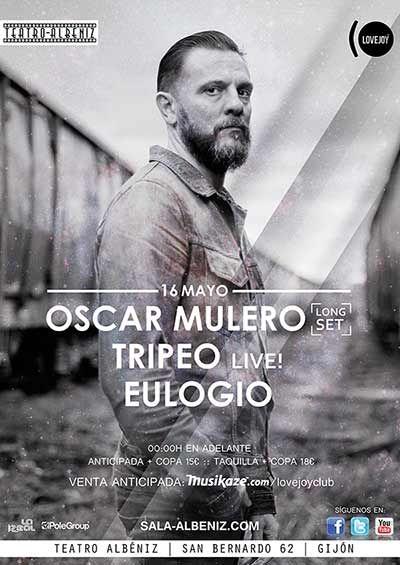 OSCAR MULERO+TRIPEO+EULOGIO 14 de mayo de 2014 Teatro Albéniz Gijón, Asturias (ESPAÑA)