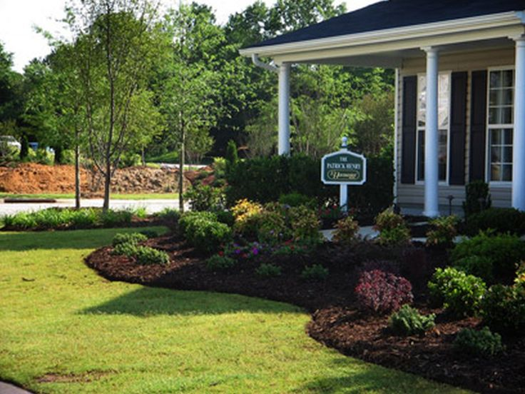 Symmetrical Front Yard Landscape Ideas | ... Front Yard Craftsman Style,  Small Courtyard Landscaping Ideas, Front | Landscapes | Pinterest | Small  ...
