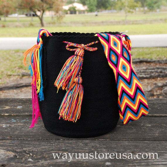 Bohemian Bag Boho Bag Wayuu Bags Wayuu Mochilas by loveandlucky