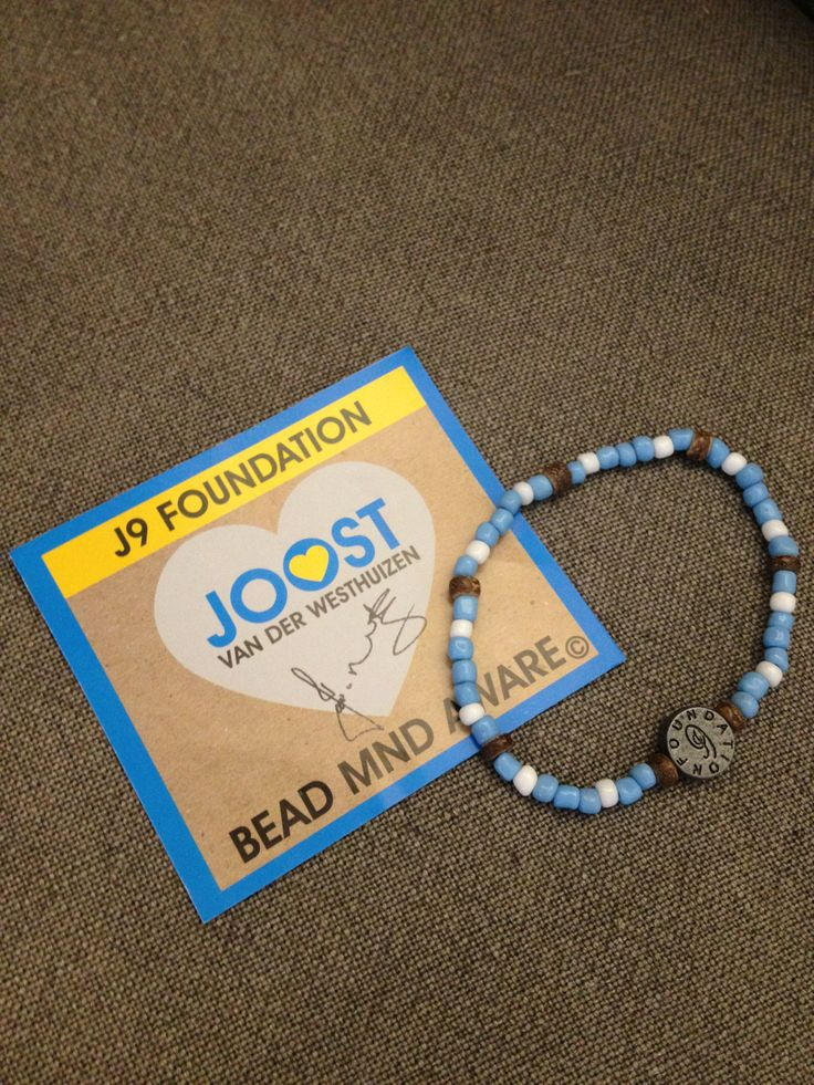 The Bead Co donates 20% of gross profit from MND bracelet sales to J9 Foundation - Joost vd Westhuizen, for its work with MND patients. (Motor Neuron Disease)  Buy online for R40 each www.beadcoalition.com