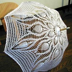 Elizandra Crochê: Sombrinhas de Crochê