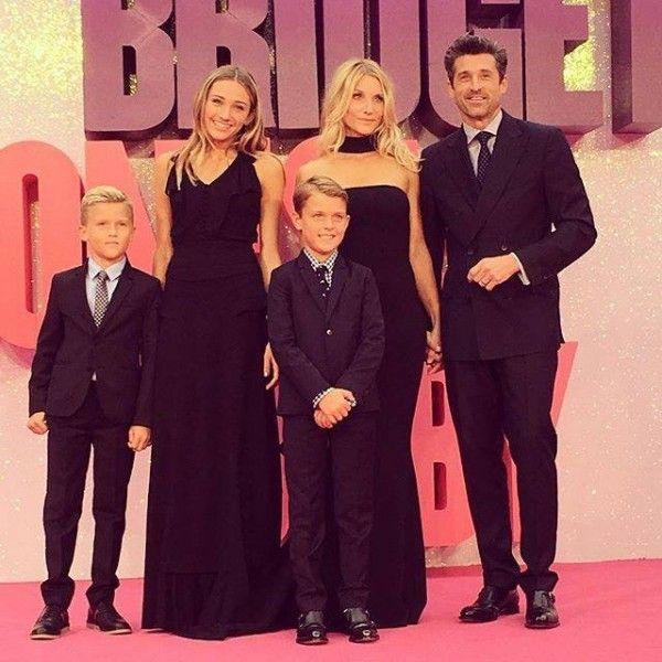Patrick Dempsey et sa famille