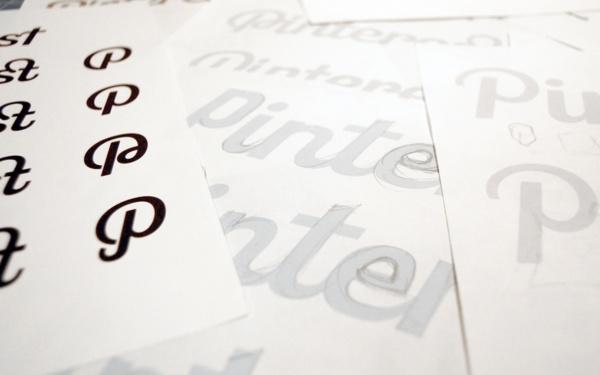 Pinterest logo design.