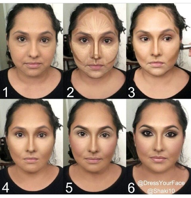Makeup. Highlight/Contour. Details on products used and how to achieve this look go to Instagram @ DressYourFace