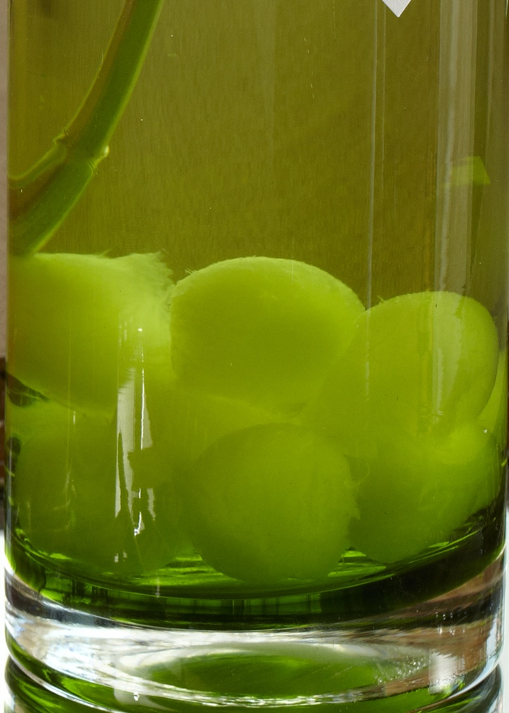 Minted Melon Water. Refresh all the baby shower guests with bottles of naturally flavored water.