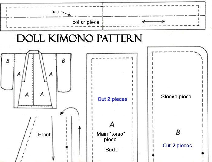 BJD clothes pattern