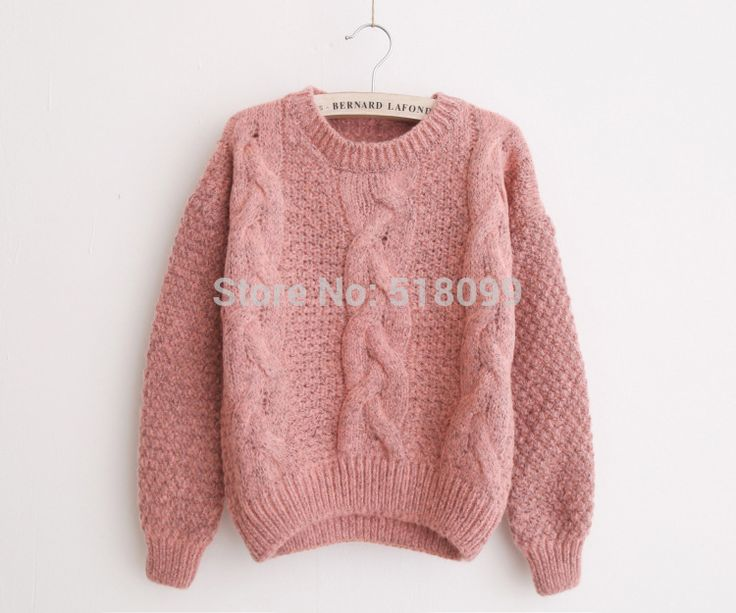 Cheap sweater crochet, Buy Quality sweater directly from China sweater dress Suppliers:  Freeshipping 2015 NEW Fashion Short Pullover Women Sweater Women Vintage Twist Long sleeve O-Neck Short Knitted