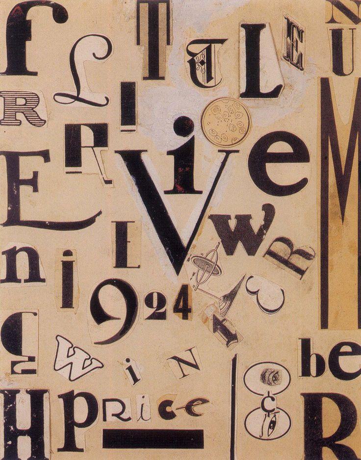 Max Ernst, portada collage para la revista de arte y literatura THE LITTLE REVIEW, Chicago, 1924.