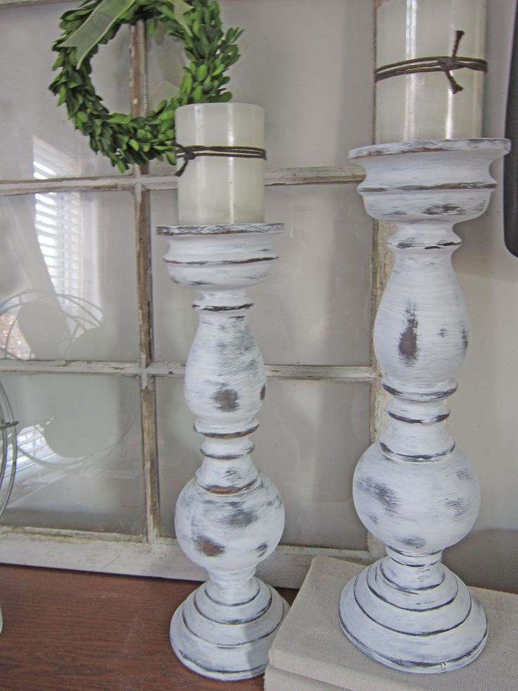 Chalk Paint Candlesticks                                                                                                                                                                                 More
