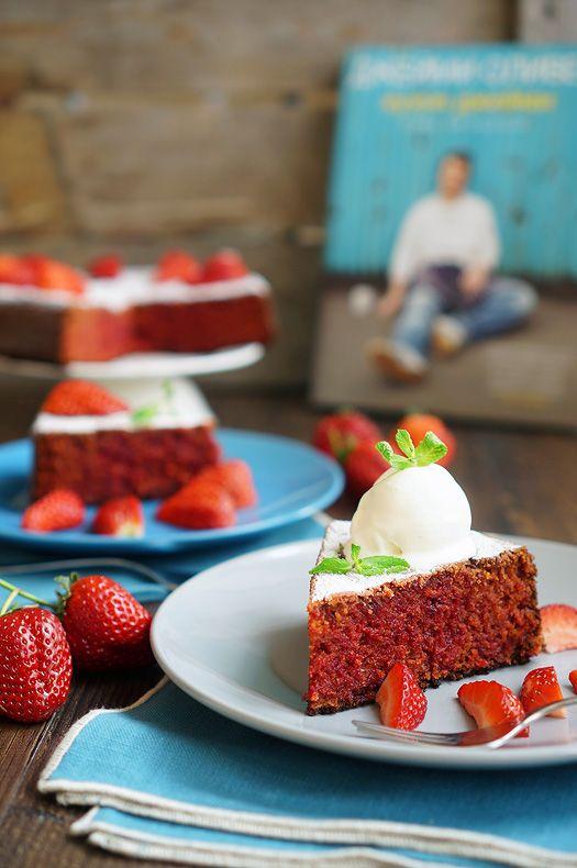 Пудинг с сюрпризом от Джейми Оливера, пошаговый фото рецепт, кулинарный блог andychef.ru