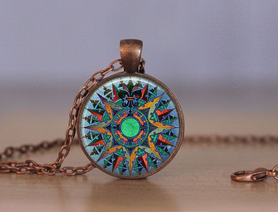 1  Bezel Necklace Made by MaDGreen Creations    ***Beautiful pendant tray in your choice of finish. Vintage copper, vintage bronze, gunmetal