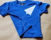 Paper airplane shirt