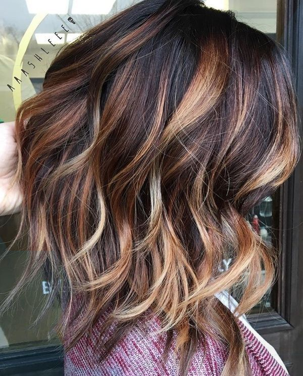Erstaunlich Großartig mid-length hair: sublime cuts and fashion colors | Hairstyle simple and easy … #artig #hair #colors #coupes #fas