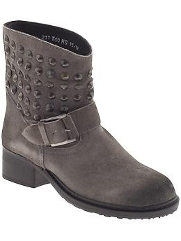 $220 Lola Cruz Studded Ankle Boot | Piperlime