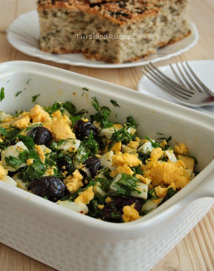 Turcja od kuchni: Sałatka jajeczna z oliwkami