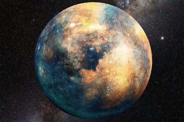 Sebuah planet seukuran Mars mungkin bersembunyi di tata surya bagian luar. Kredit: Heather Roper / LPL   SpaceNesia - Sebuah benda seuku...
