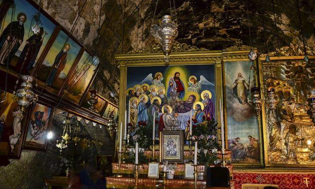 Παναγία Ιεροσολυμίτισσα : Ο Τάφος της Παναγίας στη Γεθσημανή