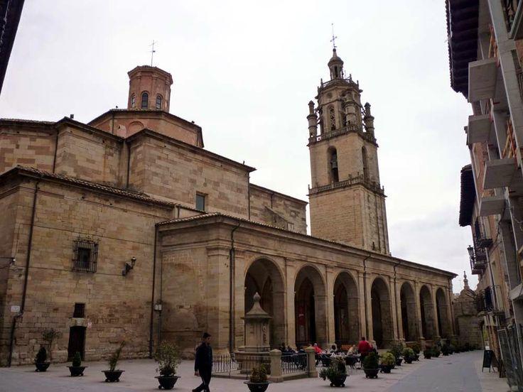 Iglesia de Santa María de Los Arcos (Navarra)