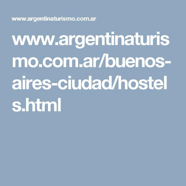 www.argentinaturismo.com.ar/buenos-aires-ciudad/hostels.html