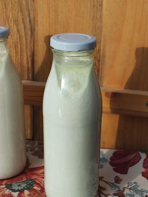 szeretetrehangoltan: Házi joghurt a palackban...