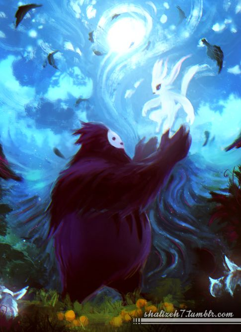 https://www.google.com/search?q=ori And the blind forest Fan Art
