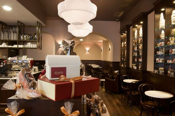 Ganache Chocolate lounges are a relaxing abode serving delicious drinks, artisan chocolates and delectable patisserie.