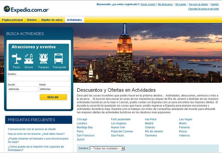 Expedia http://www.expedia.com.ar/