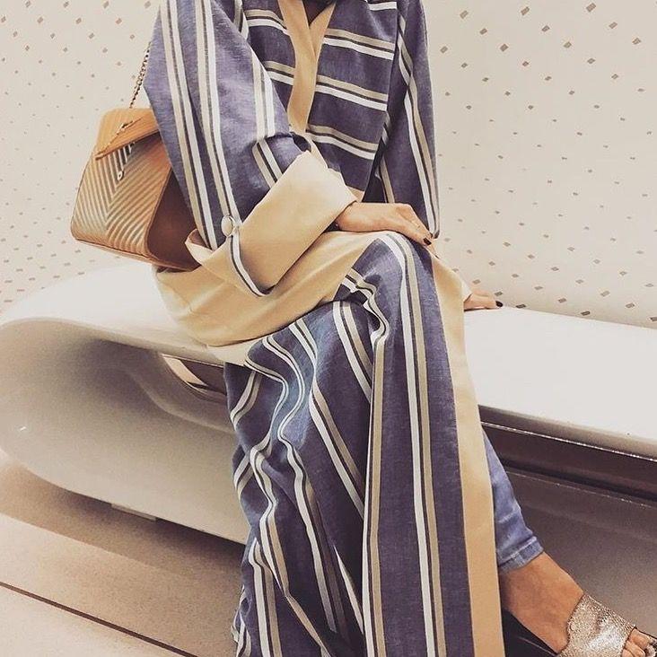 IG: Asta_Creations || IG: Beautiifulinblack || Modern Abaya Fashion ||