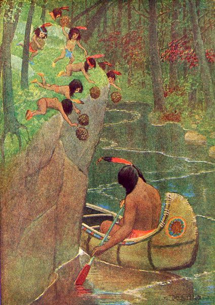 best the song of hiawatha images henry wadsworth from the tale in the song of hiawatha from chapter xviii the death of kwasind