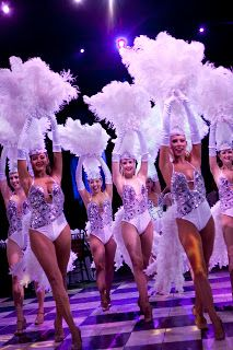 Las Vegas Show Dancers - Learn all about My First Hacked Travel Trip (to Las Vegas) and how I saved $1,023.88 http://travelnerdnici.com/first-hacked-travel-trip-las-vegas/ - Explore the World with Travel Nerd Nici, one Country at a Time. http://TravelNerdNici.com