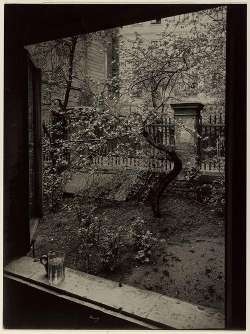 The Window of My Studio - Spring in My Garden byJosef Sudek
