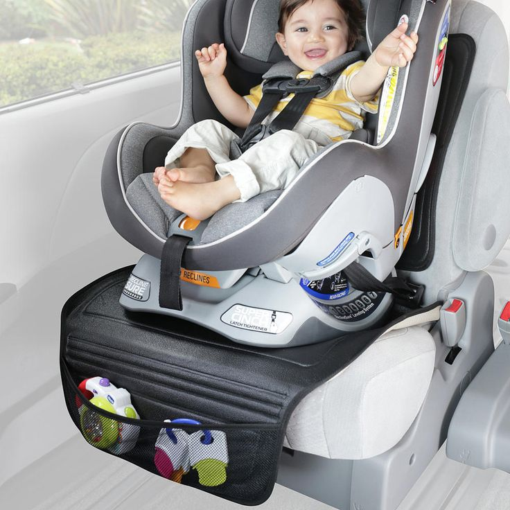 Style and convenience come together in the Chicco Universal Car Seat Protector.<br><br>Chicco Silicone Universal Car Seat Protector Features:<br><ul><li>Protects upholstery and secures car seat in place.</li><br><li>Designed for rear and forward-facing car seats.</li><br><li>Features a convenient storage pocket.</li><br><li>Car seat not included.</li></ul><br><br>The largest baby brand in Europe, Chicco takes the happiness of children seriously. By understanding babies and what makes them…