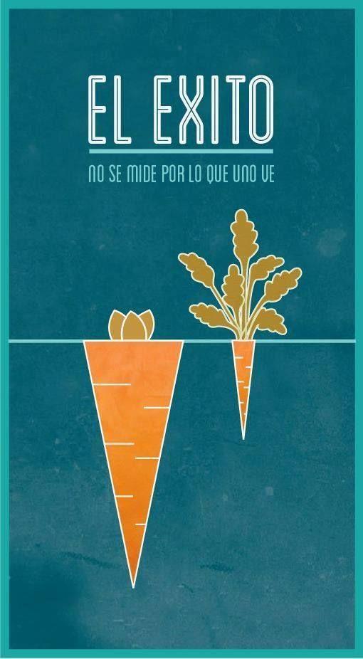 El éxito no se mide por lo que uno ve. #frases #pensamientos #positivo www.erafbadia.blogspot.com @erafbadia