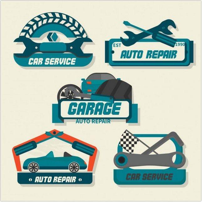 25 Stunning Auto Service Logo Designs For Inspiration Con
