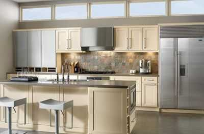 One wall kitchen with island small kitchen layout single for One wall kitchen layout