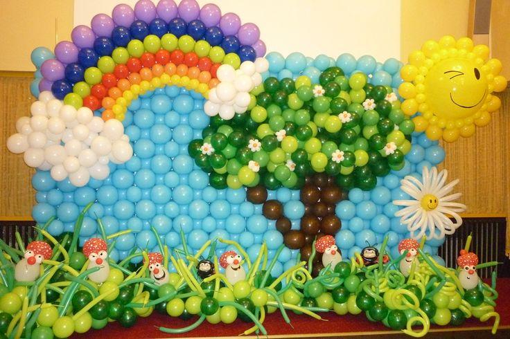 dětská párty výzdoba - Hledat Googlem
