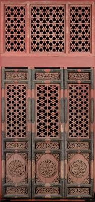 Wood carved doors - china