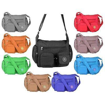 Photo of Details of Lady Shopper bag cross-over shoulder bag school holiday travel shoulder bag- see original title