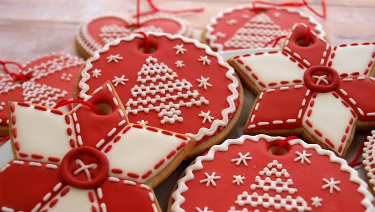 How To Decorate Christmas Cookie Ornaments - Day 3 of the 12 Days of Chr...