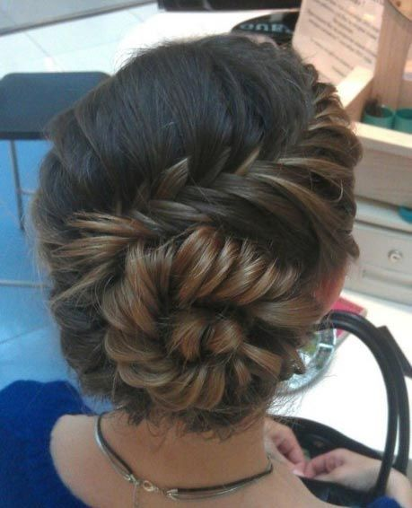 41. Fishtail Braid into a Bun This lovely style begins as a side fishtail braid and ends in a braided bun.Fishtail braid looks great on everyone! The style will make you stand out from the crowd. 42. Low Bun + Long Bangs Bring attention to your face with this beautiful low bun updo. Low bun …
