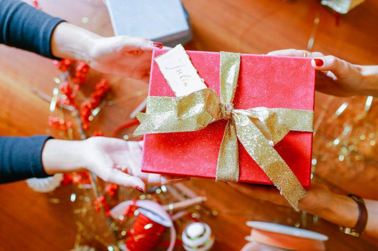 Christmas party - gift wrapping