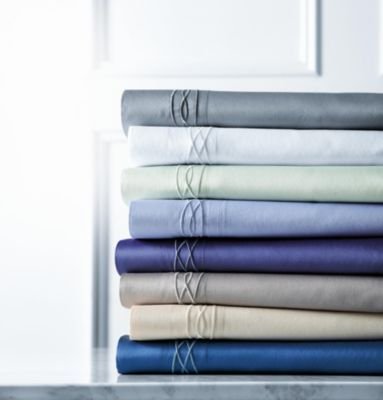 Style At Home 400 Thread Count Embroidered Sheet Set - Sears | Sears Canada