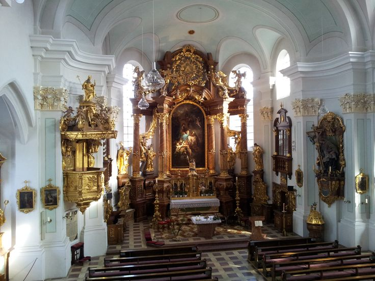 Main church of Vilshofen an der Donau, county Passau