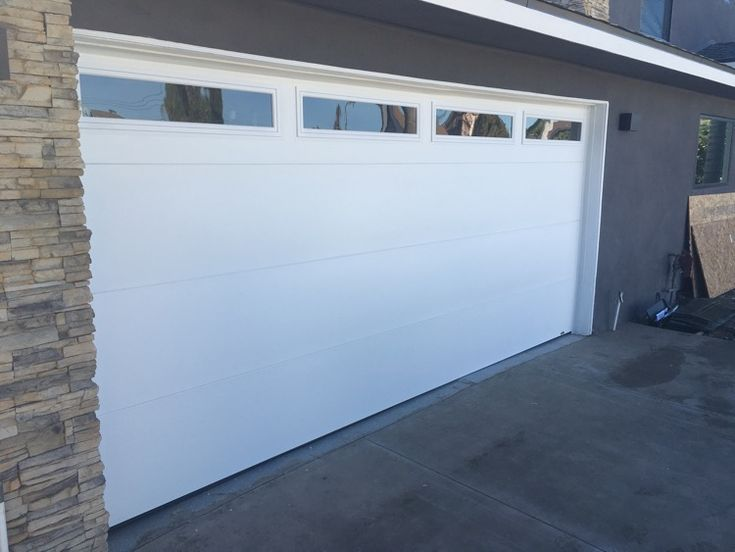 Flush panel garage door google search 2016 parade for Flush panel wood garage door
