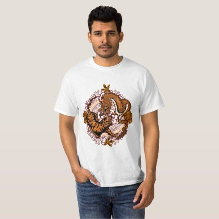 dragon tiger T-Shirt - tap, personalize, buy right now!