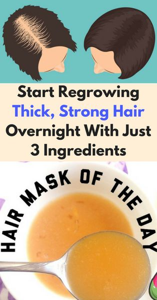 Natural Tonic for Thick, Shiny, Fast Growing Hair