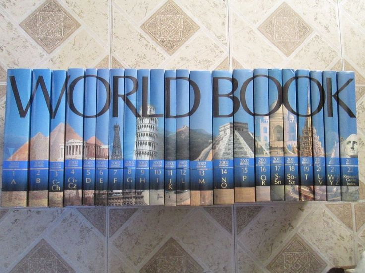 The world book encyclopedia 2002 Research Guide set of 22