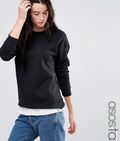 Asos Womens The Ultimate Hoodie Charcoal - ASOS Basics