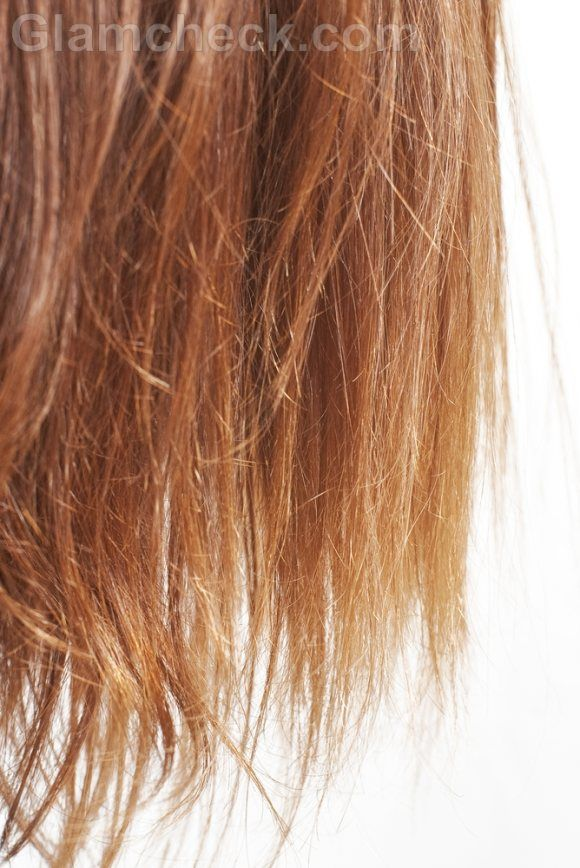 how to get rid of split ends without cutting it