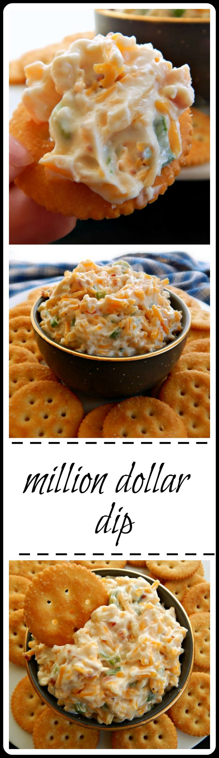 Million Dollar Dip: Dip of many names, sometimes called ABC for the Almond, Bacon & Cheddar!